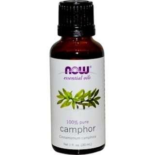 Now Foods, Camphor Essential Oils 1 fl oz (30 ml)
