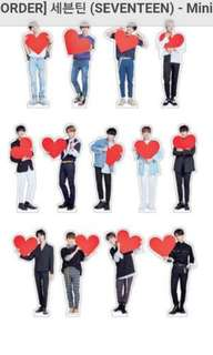 SEVENTEEN Ideal Cut Standee