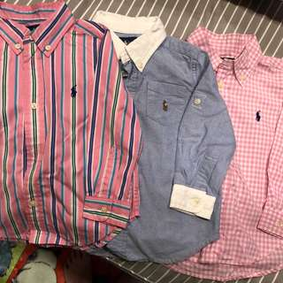 POLO by Ralph Lauren shirt boy size 24 mths