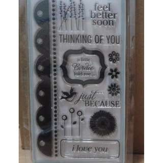 Clear Stamp - Thinking of you