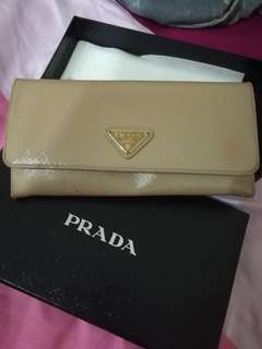 Prada bag wallet (navy)