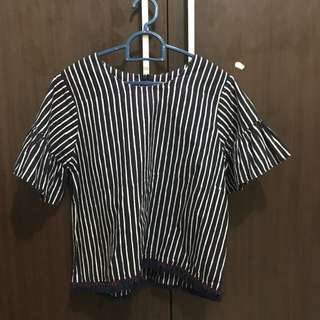 Batik striped shirt