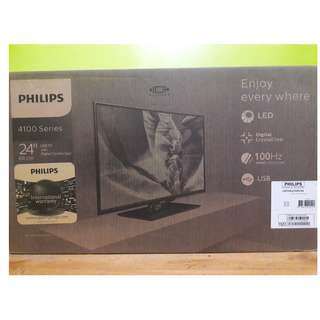 Philips 24 Inch 60cm Slim LED TV with Digital Crystal Clear