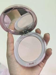 🚚 「近全新」日本購回🇯🇵 canmake 紫色版 粉色珠光蜜粉餅 提亮 打亮 定妝 控油 遮瑕