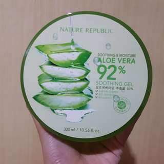 (SHARE) Nature Republic Soothing&Moisture 92% Gel