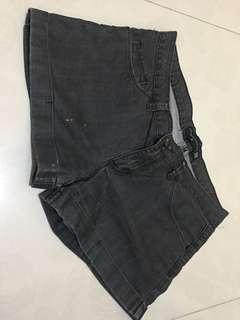 Penshoppe Black Denim Shorts