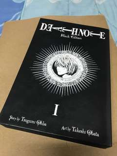 Death Note Vol. 1 & 2: Black Edition