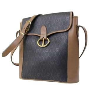 Christian Dior Shoulder Bag-Brown