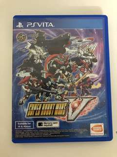 Super Robot Wars V (PS Vita) - Japanese Voice, English Subtitle