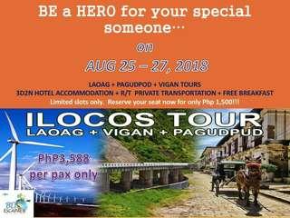 3D2N Ilocos Tour