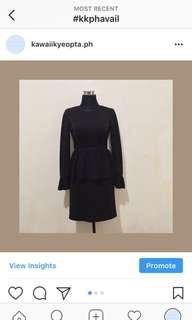 Corporate Dress - black