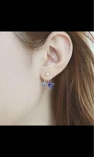 Crystal birds Stud Earrings