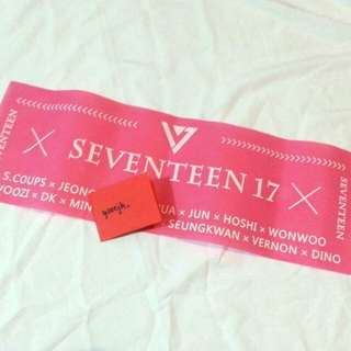 (READY STOCK) SEVENTEEN LIMITED HANDBANNER