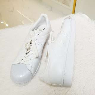 Brand New Adidas Superstar White size 10 ❤BIG SALE P4500 ONLY❤ Swipe for detailed pics