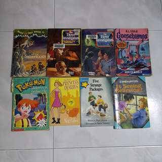 (all for 5 dollars) Assorted Storybooks for Children