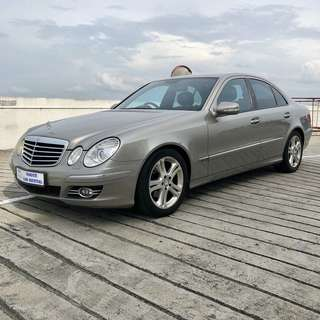 Mercedes E200 Car Rental