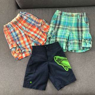 Preloved short pants for boys 3y/o