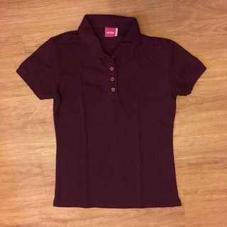Maroon Poloshirt