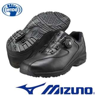 齊碼!!日本美津濃MIZUNO 免綁鞋帶寬楦健走鞋 (佐敦恆豐中心已經賣斷市) 強烈建議飲食行業,零售行業,醫療行業等前線人士購買,歡迎跟Dr.Kong 作對比