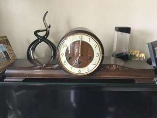 Westminster Key Wind Mantle Clock