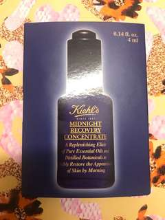 Kielh's Midnight Recovery Concentrate travel size