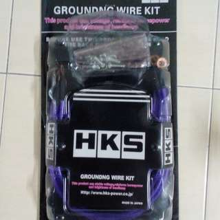 HKS 5 point grounding cable Japan Made New