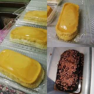 Chocolate moist & Leche Flan