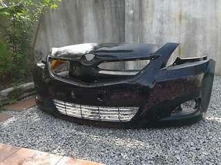 Toyota vios dugong ncp93 bumper
