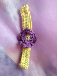 Crochet Hairband for Babies