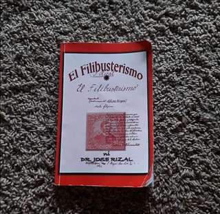 El Filibusterismo Book