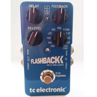 TC Electronic Flashback Delay & Looper ,EBS sweden Tremolo & Xotic BB Preamp MB
