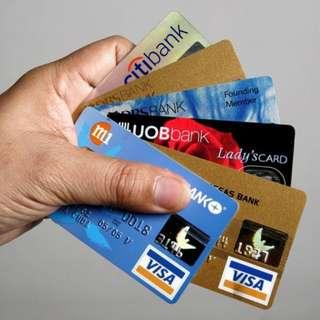 Credit card Promo/Helper/online purchase service