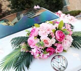 結婚花車裝飾