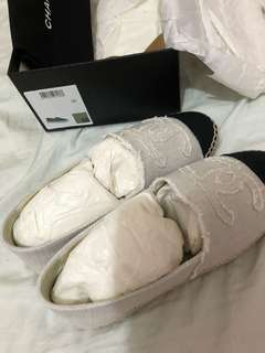 Chanel 草鞋 35 白色