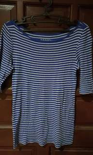 Small Striped 3/4 Shirt