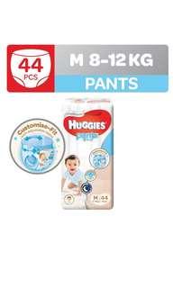Huggies platinum pants M diapers