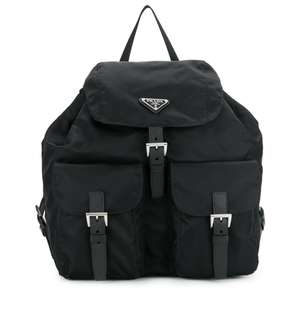 Prada Logo Plaque Backpack 背包 背囊