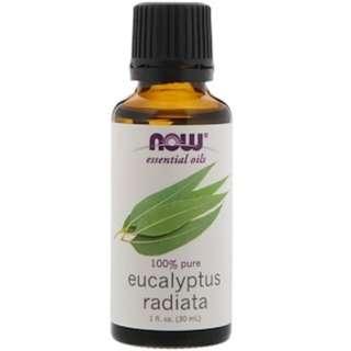Now Foods, Eucalyptus Radiata Essential Oils, 1 fl oz. (30 ml)