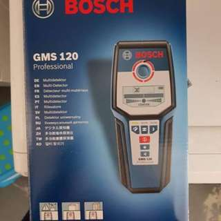 BOSCH GMS120 Digital Multi Detector Wall Stud & Metal Finder Scanne