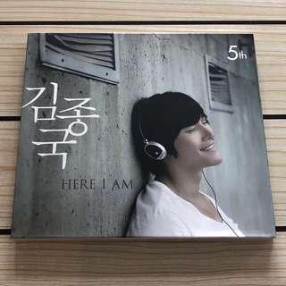 Kim Jong Kook 金鐘國 solo CD 5輯