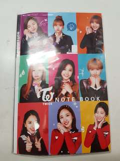 Twice notebook