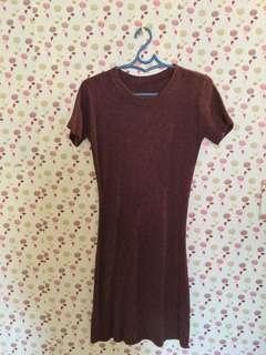 Knitted Tshirt Dress
