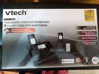 Vtech Twin Digital Cordless Phones