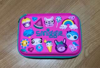 Smiggle kooky hardtop pencil case