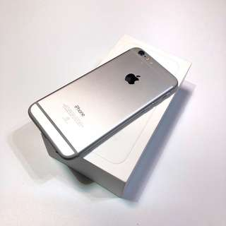 iPhone 6 64silver good condition with charge