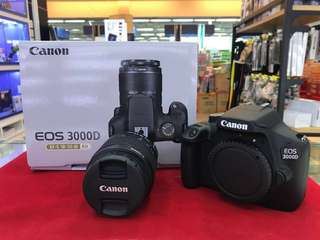 Dslr Canon Eos 3000D + EFS 18-55MM III Kit