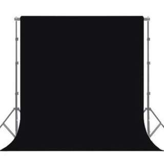 BN Studio Backdrop Muslin Cloth (3m x 5m) - Black (Others Colours Available)
