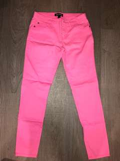 Forever 21 Pink jeans