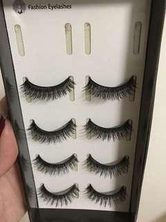 Double layer fake eyelashes
