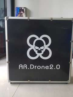 AR Drone 2.0 Power edition comes with hard case